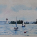 Baddeck Sailing Lesson- Nancy McLean