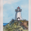 Nancy McLeanWatercolours- Gabarus Lighthouse Sketch.JPG