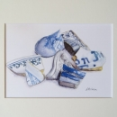 Nancy McLean Watercolours- Fortress of Louisbourg Artefacts #1